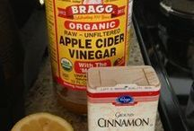 apple cider drink.