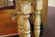 Wooden baluster ideas