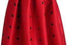 Red Skirt !