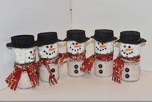 Snowmen cocoa