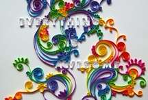 Quilling Monograms and Letters / by Diana Rosa