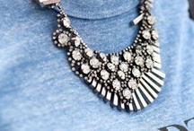 Look to try - Statement Necklace / Fashion. Statement necklaces