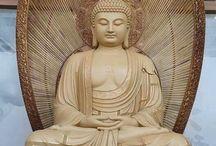 magnifique statue de bouddha