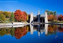 National Historic Site of Canada - Peterborough Lift Lock / Lock 21 on the Historic Trent-Severn Waterway