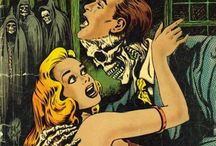Vintage Horror Comic Books