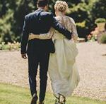 Real Wedding Couple Shots at Pennard House