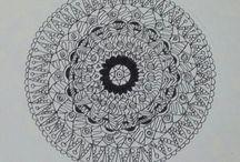 Zen/Mandala Drawings