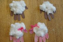 Hand Print/Foot Print Crafts and Gifts / by Katie Martin