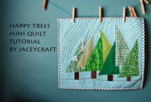 Miniature Quilt Patterns & Tutorials
