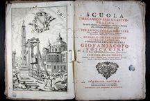 Scuola mecanico-speculativo-pratica : in cui si esamina la proporzione, che ha la potenza alla ... / Primera edició impresa a Venècia d'aquest tractat de mecànica publicat originàriament a Bolonya l'any 1711 i que, segons consta al CCPB és l'únic exemplar de l'obra existent a l'Estat espanyol. Destaca la portada a doble tinta, les caplletres ornades i els culsdellàntia, així com els diversos gravats calcogràfics il•lustratius que es troben al llarg del text.