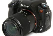 Fotocamera's / Camera's die ik heb gebruikt of die ik wel zou willen hebben. Of gewoon leuke hebbedingetjes die met fotografie te maken hebben :-).