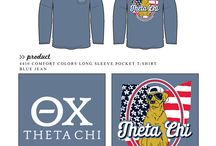 Theta Chi / Theta Chi custom shirt designs #thetachi #ox #tc  For more information on screen printing or to get a proof for your next shirt order, visit www.jcgapparel.com