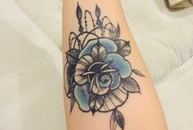 Tattoos / Rose tattoo