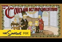 The Simpsons // White Christmas Blues Couch Gag