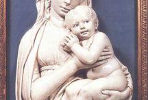 Della Robbia Luca / Storia dell'Arte Ceramica  15° sec. Luca Della Robbia  1400-1482
