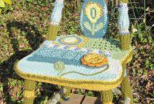 my crochet unique work