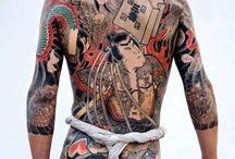 YAkuza et tatouage Japonais