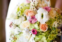 Flower Arrangements / Fresh bright flower arrangements for wedding celebrations. / by Jessica Farber