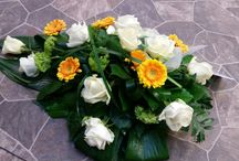 Funeral flowers made by Kalevan Kukkatalo / Funeral Flowers