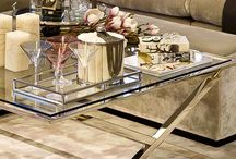 Coffee tables styling