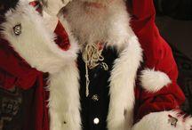 Santa / The best Santas....trained by Victor Nevada's Santa School in Calgary Alberta Canada  www.santaschool.com photos taken by jewel image.ca / by Jennifer Andrews