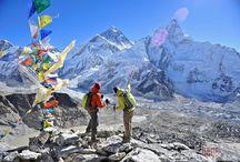Trekking in Nepal / Find here top destinations in Nepal for trekking.