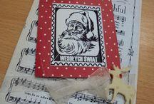 Boże Narodzenie craft / kartki świąteczne ręcznie robione