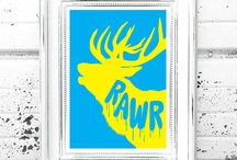 Prints / Check out our range of prints - available now from our Etsy store!