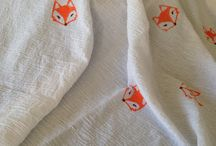 Muslin Swaddle Blankets / Collection of adorable prints and styles of muslin or bamboo swaddle blankets