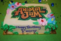 Animal Jam Party / National Geographic's Animal Jam Game comes to life in the form of a Birthday Party at Digital Dragon. We throw a party that will satisfy any kids love of this computer game. Animal Jam characters, game play, and decor!