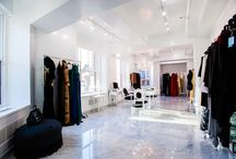 Plaza District Office Rentals - 18 East 48th Street, 20th Floor / This Plaza District office is a custom-built full floor showroom for designer, Zang Toi with two terraces. C