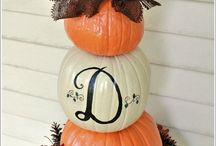 Fall decorations / by Susan Kunkel