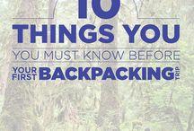 Backpacking/hiking