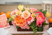 colourful wedding inspiration / Floral designs that stand out from the crowd