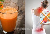 zumo antiinflamatorio y antioxidante