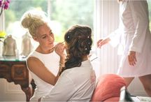 Bridal Prep / Bridal Prep Images taken by Emily Little Photography