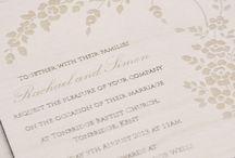 Wooden wedding invitations / Wooden invitations