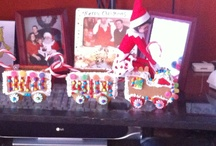Tinsel our Elf on the Shelf