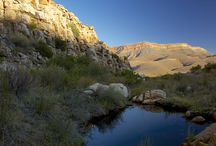 CEDERBERG MOUNTAINS, SOUTH AFRICA / Wilderness area in Western Cape. Hiking, horse riding, mountain biking, relax in the stunning surroundings.