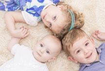 3 Children photography / Inspiration for family photos with three children