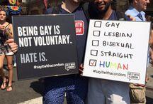 LGBT PRIDE / by Kristin O'Connor Saslovsky