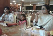 First Anniversary Lunch / 29 Sep 2013, our first anniversary! Lunch with team and family at Renai Cochin.