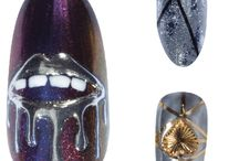 Chrome Nails / The future of fingernails is reflective.