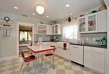 1950s Kitchen ... Then ...