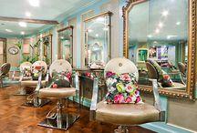 Ideas for Nicole / Inspirations for Nicole's salon space :)