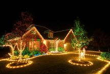 Sparkly Christmas / Showing off a stunning and twinkling outdoor lighting décor is the opportunity to impress anybody approaching your home. So get your garden brightly dressed this Christmas! For more information about our Christmas decorations, please visit: http://www.festive.co.uk/.