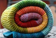BLANKETS, TEPPER / Knitting
