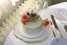 Wedding Cake Ideas / Small wedding wedding cake ideas!