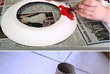 Recycle paper plates and cups