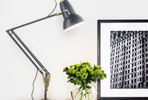 Anglepoise Lighting / Anglepoise made its name back in the 1930s, when an automotive designer, George Carwardine, invented the Anglepoise desk lamp. This iconic lamp, which used a system of springs, cranks and levers for adjustment, is still sold today. The original 1227 design of 1935 can be found among a range of desk lamps, pendants and wall lamps. https://www.lighting-direct.co.uk/brands/anglepoise.html